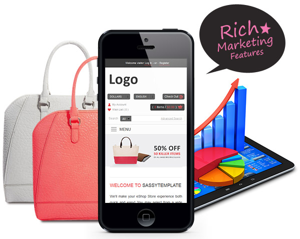 Rich Marketing Features